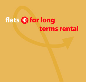 Flats for long terms rentals
